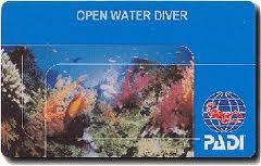 certification Open Water Divr